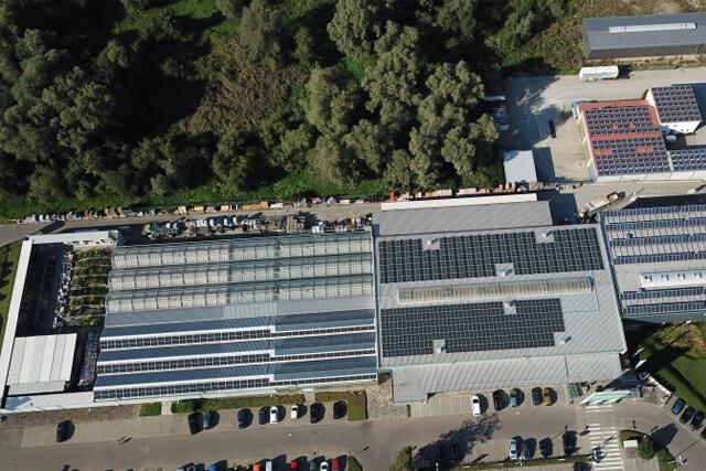 PV-Anlage Illertissen, Henlebau